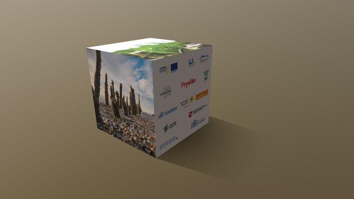 Werbewürfel 02 3D Model
