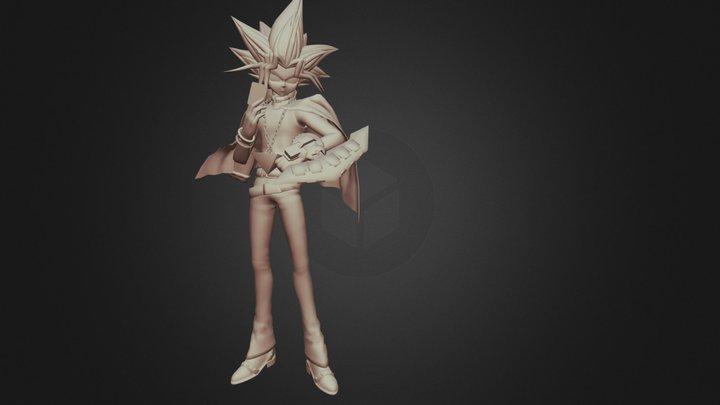 Yugi Muto 3D Model