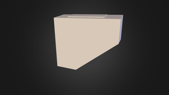 S S R- C R L Bogie Sand Boxes - Right - 3D Print 3D Model