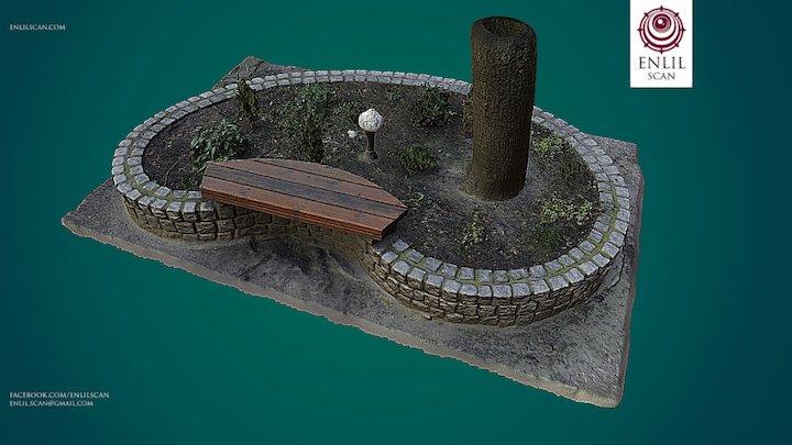 Flowerbed test 3D Model