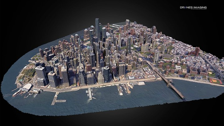 Manhattan - New York 3D Model