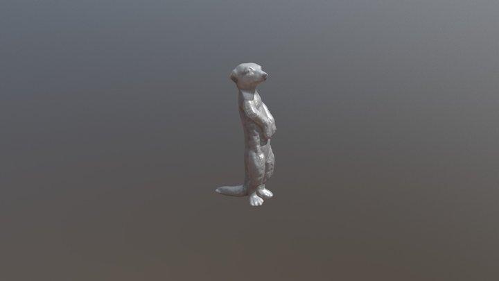 Erdmännchen 3D Model