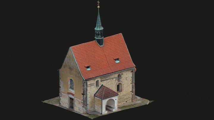 Kostel Stětí svatého Jana Křtitele 3D Model