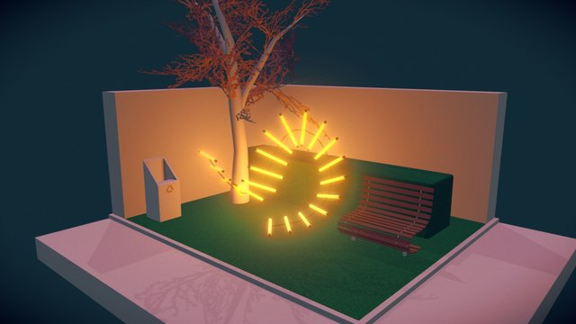 Park 3D Model