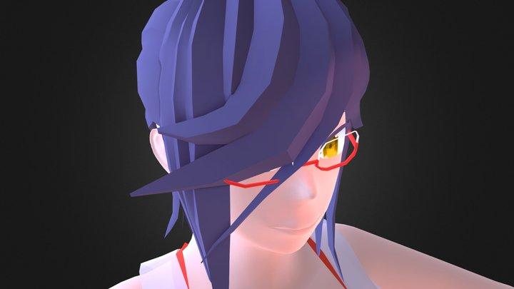 Haru Xindai (WIP) 3D Model