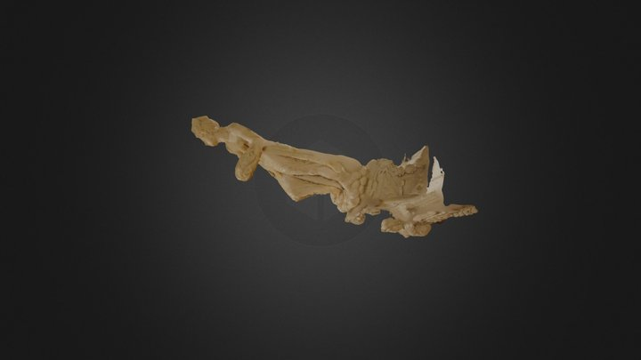 san giacomo statua 1 texture ap 3D Model