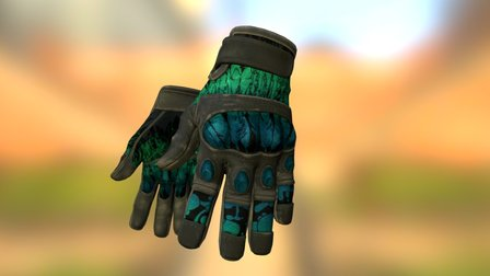 CT Gloves   Icarus Fell 3D Model