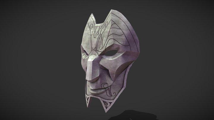 Jhin's Mask 3D Model