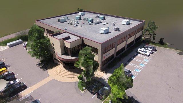 Building 1690 - UAV Drone Photogrammetry 3D Model