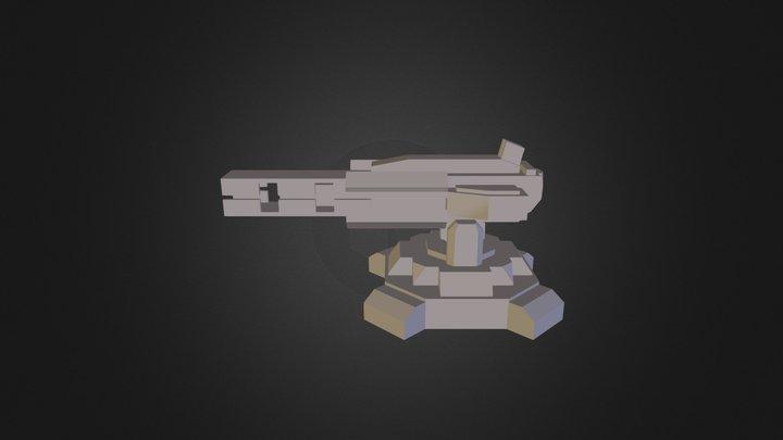 Anti Orbital Lance WIPV3 3D Model