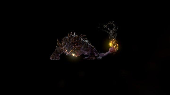 Char Monster A 3D Model
