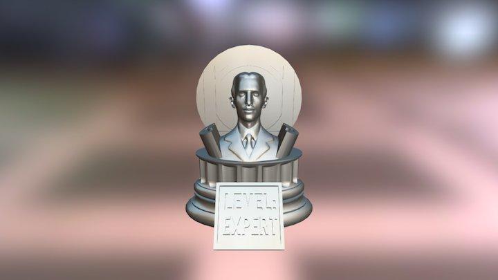 Tesla Trophy 3D Model