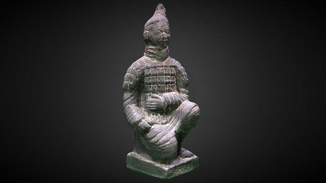Qin Terracotta Warriors and Horses-MEDIUM 3D Model