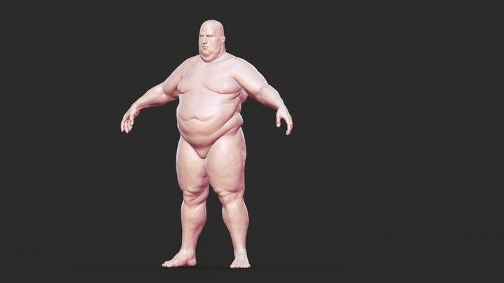 Base body 04 3D Model