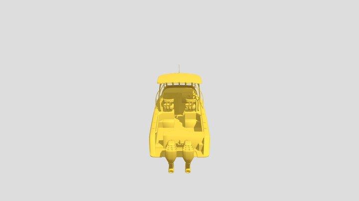 Boat Triton 3D Model