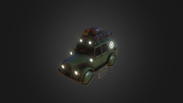 Car Gas 69 3D Model