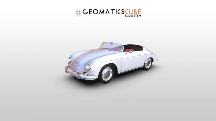 Porsche 356 Speedster 3D Model