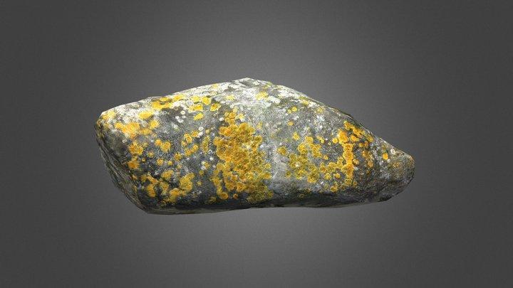 Rocking Stone 01 3D Model