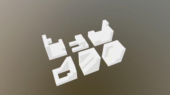 First Steps / First Model 3D Model
