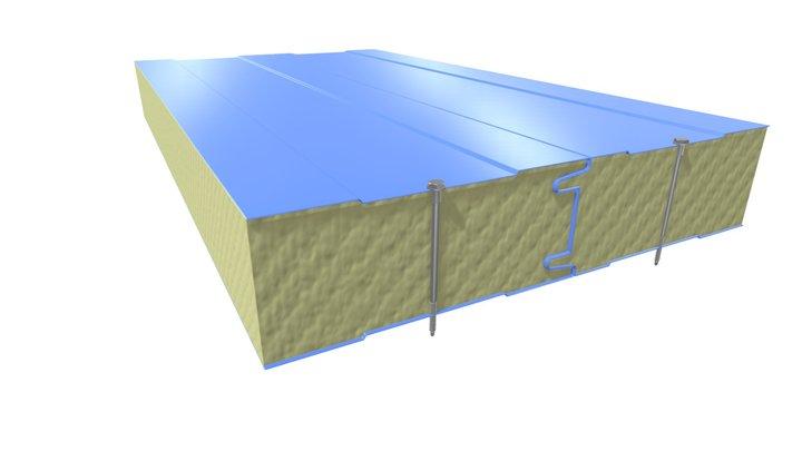 Сендвич-панели 3D Model