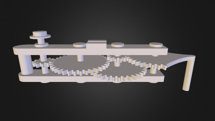 Optical Encoder Resolution Magnifier 3D Model