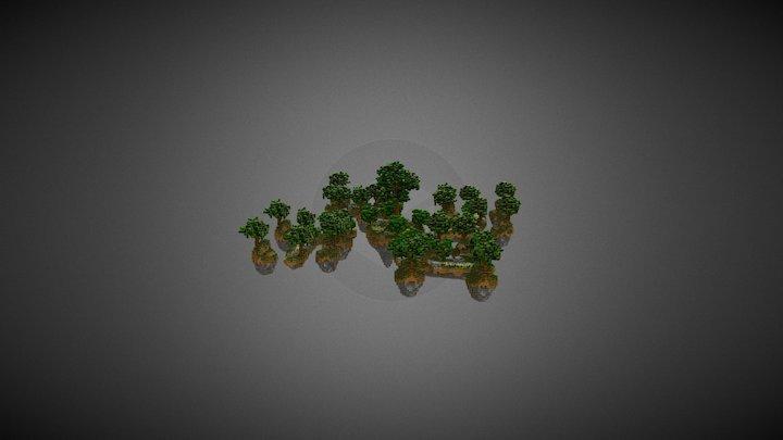 SkyWars Forest 3D Model