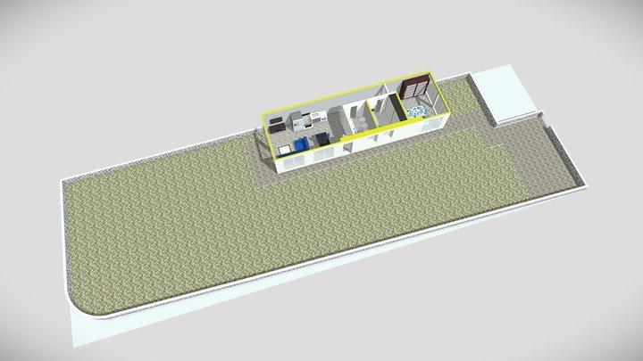 Appartamento numero 06 piano terra 3D Model