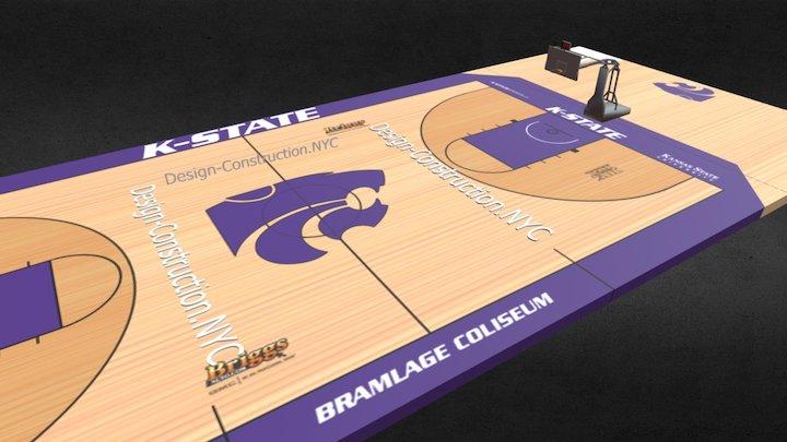 NBA COURT (Design-Construction.NYC-718-607-1940) 3D Model