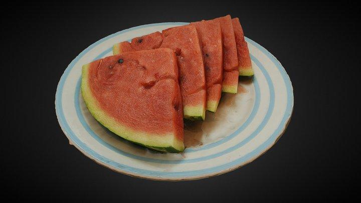 Watermelon \ Арбуз 3D Model