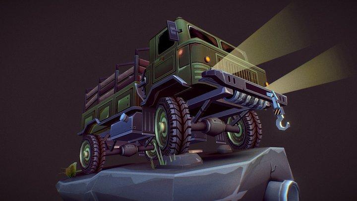 Gaz 66 Truck 3D Model