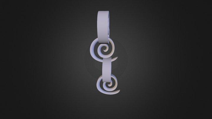 מחבר ספירלה 3D Model