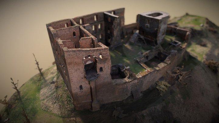 Hrad Krakovec / Krakovec Castle 3D Model