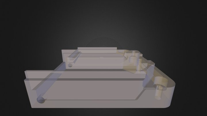 The AirBoard enclosure 3D Model