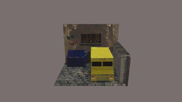 Van 3D Model