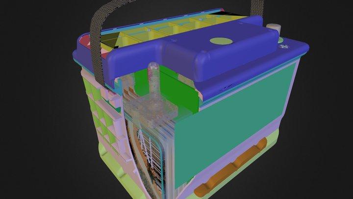 Bateria Inteligente Moura 3D Model