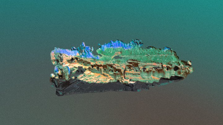 Dara Nekropol Alanı, Mardin 3D Model