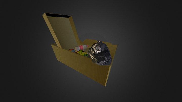 Rubbish Box 3D Model