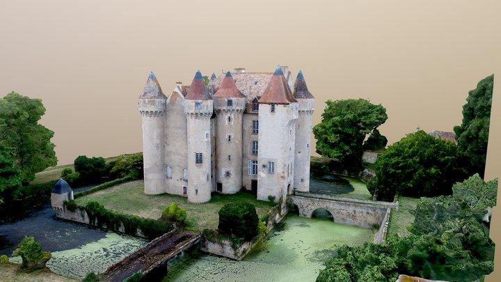 Chateau de Chazelet 3D Model