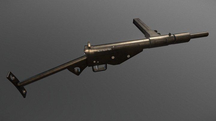 Sten Gun 3D Model
