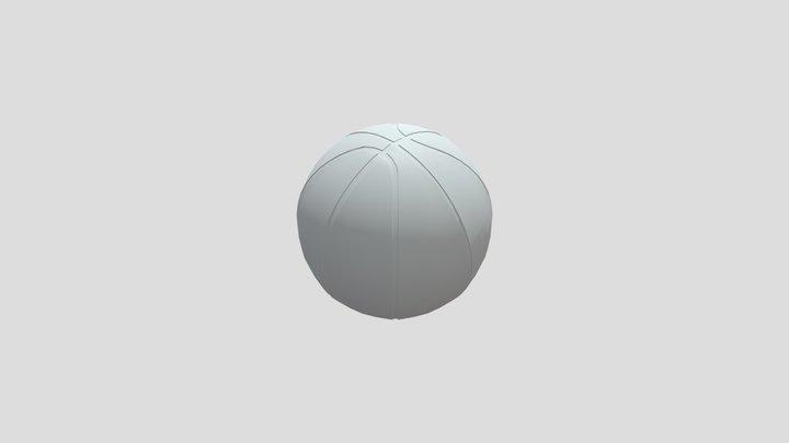 3D Basketball - Base Mesh 3D Model