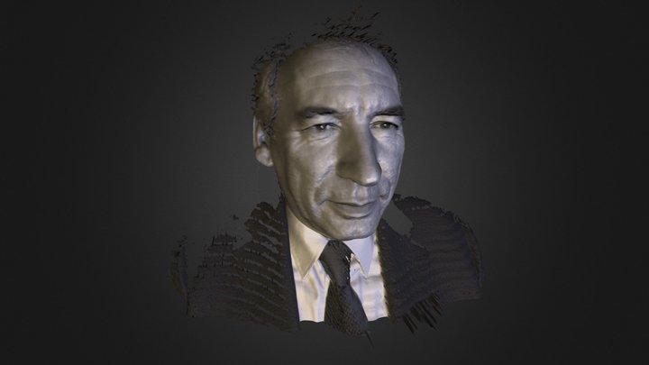 François Bayrou 3D Model