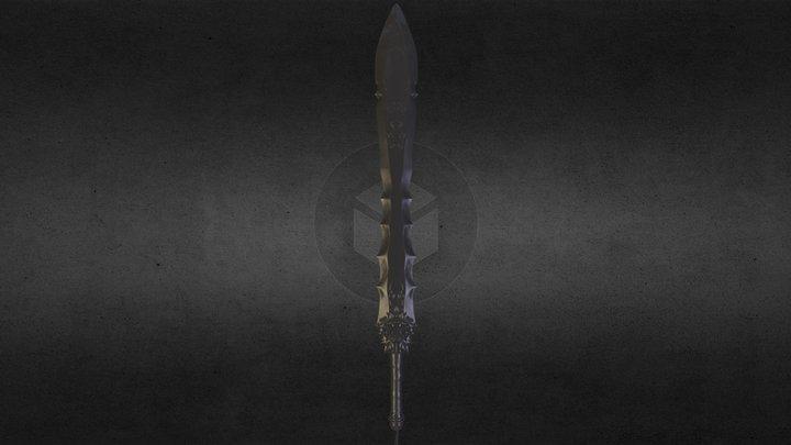Winterthorn sword 3D Model
