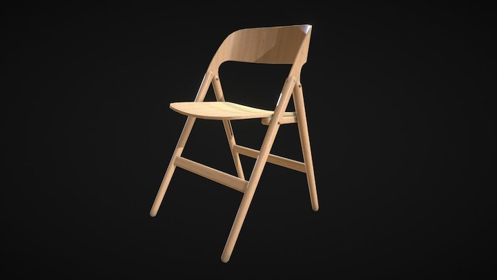 Narin Chair 3D Model
