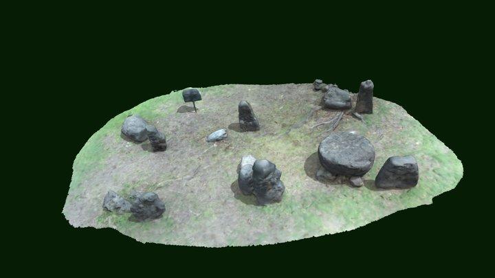 Latte Stone Site - UOG 3D Model