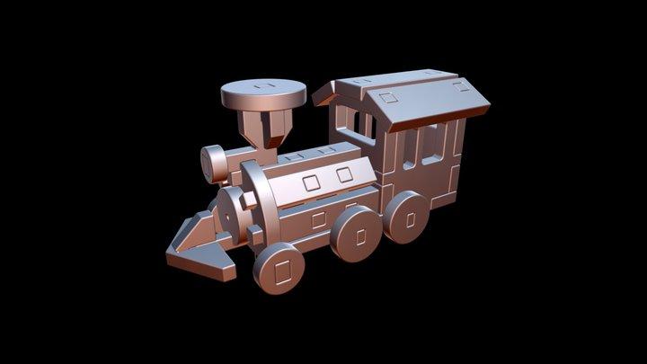 Train View 3D Model