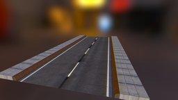 Road_Straight 3D Model