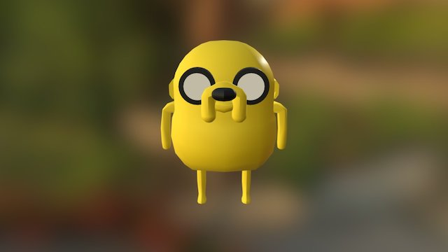 Jake the dog 3D Model