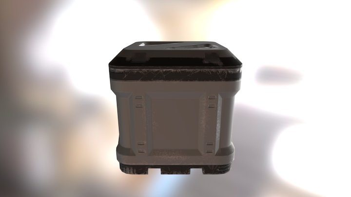 box doonm 3D Model