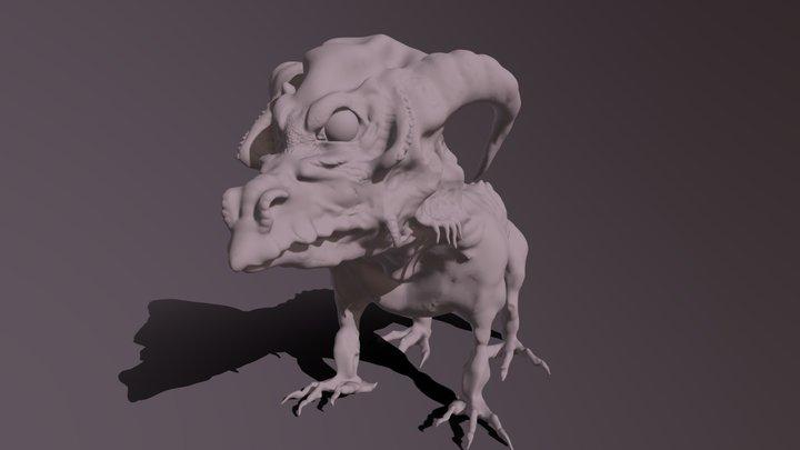 Drache 3D Model