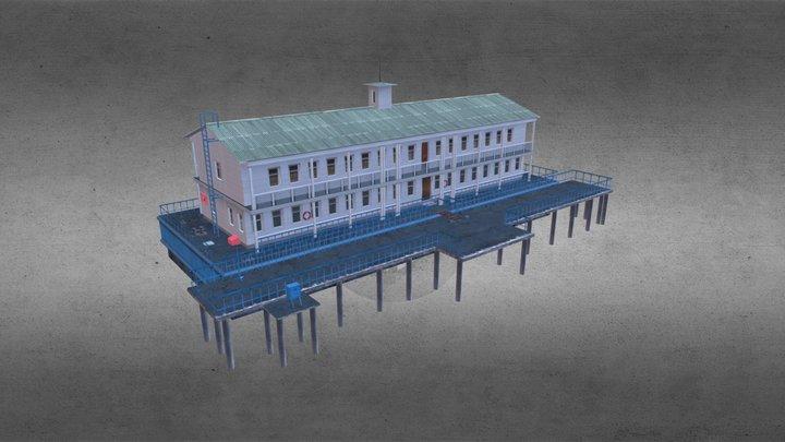 Embankment building 3D Model